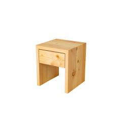 Nachttisch Lärche (Schublade)